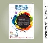 poster flyer  brochure business ...   Shutterstock .eps vector #428542627