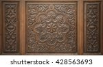 old traditional decorative... | Shutterstock . vector #428563693