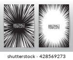 business brochure flyer design... | Shutterstock .eps vector #428569273