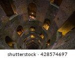 pozzo di san patriazio  a... | Shutterstock . vector #428574697