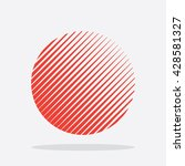 sun icon. logo symbol in vector | Shutterstock .eps vector #428581327