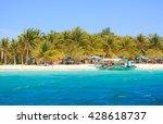 landscape of tropical island....   Shutterstock . vector #428618737