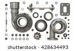 sorted turbocharger of car... | Shutterstock . vector #428634493