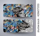 cartoon colorful vector hand...   Shutterstock .eps vector #428657353
