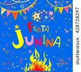 latin american holiday. festa... | Shutterstock .eps vector #428728297