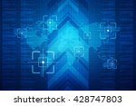 background conceptual image of... | Shutterstock . vector #428747803