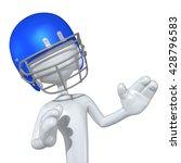 football character 3d... | Shutterstock . vector #428796583