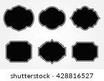 vintage labels.decorative... | Shutterstock .eps vector #428816527