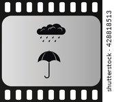 umbrella flat icon. umbrella...