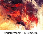 bright artistic splashes.... | Shutterstock . vector #428856307