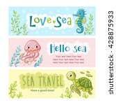 Set Of Vector Banners On The...