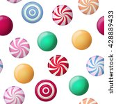 vector seamless pattern with... | Shutterstock .eps vector #428889433