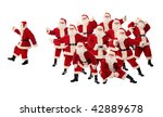 high quality christmas... | Shutterstock . vector #42889678