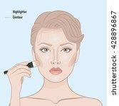 How To Contour Woman Face. Fac...
