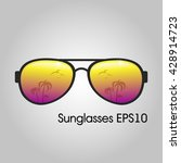 sunglasses for men | Shutterstock .eps vector #428914723