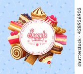 Cupcakes Pastry And Sweets Fla...