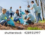 volunteering  charity  cleaning ... | Shutterstock . vector #428931997