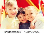 summer  childhood  leisure ... | Shutterstock . vector #428939923