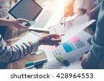 team work process. new... | Shutterstock . vector #428964553