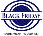 black friday denim background | Shutterstock .eps vector #429005437