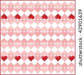 valentine heart | Shutterstock .eps vector #42901639