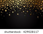 vector background with gold