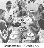 friends friendship outdoor... | Shutterstock . vector #429053773