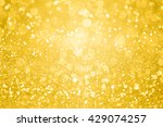 abstract gold glitter sparkle... | Shutterstock . vector #429074257