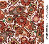 mandala. vector pattern for... | Shutterstock .eps vector #429103033