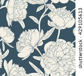 seamless floral pattern with... | Shutterstock .eps vector #429105613