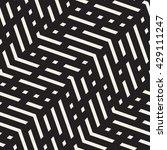 vector seamless black and white ... | Shutterstock .eps vector #429111247