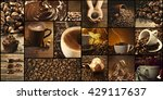 Coffee  Themed Collage