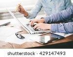 website developers working...   Shutterstock . vector #429147493