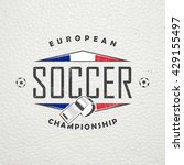 football championship of france.... | Shutterstock . vector #429155497