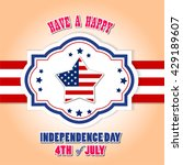 independence day  4 th july... | Shutterstock .eps vector #429189607