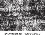 grunge white and black texture. ... | Shutterstock .eps vector #429193417