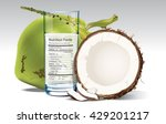 vector nutrition facts of... | Shutterstock .eps vector #429201217