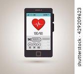 wearable technology design  | Shutterstock .eps vector #429209623