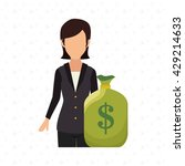 money saver design  | Shutterstock .eps vector #429214633