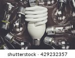 bulb uniqueness concept on the... | Shutterstock . vector #429232357