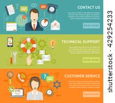 contact us customer support... | Shutterstock .eps vector #429254233