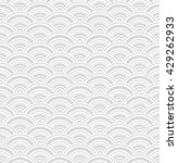 geometric gray wave seamless... | Shutterstock .eps vector #429262933