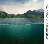 Sea Landscape Design Template...