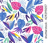 vector fresh pattern of... | Shutterstock .eps vector #429295057