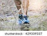Trail Runner Man Walking In A...