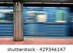 metro line 3   budapest | Shutterstock . vector #429346147