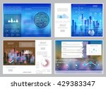 cards design  templates for... | Shutterstock .eps vector #429383347