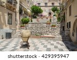 taormina  italy   july  2 ... | Shutterstock . vector #429395947