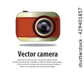 illustration vector camera...   Shutterstock .eps vector #429401857