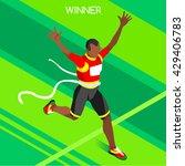 Marathon Finish Line Afro...